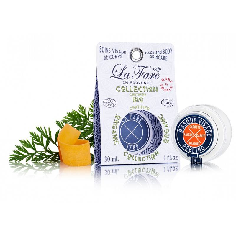 la fare peeling face mask